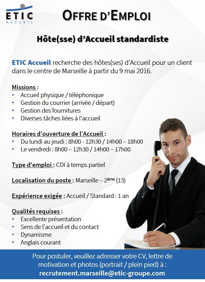 ETIC Accueil - Offre Joliette - Avril 2016