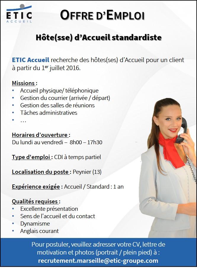 ETIC Accueil - Offre Peynier - Juin 2016